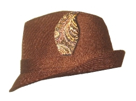 Choose from number hats for men and women. Order a custom made hat leaf.